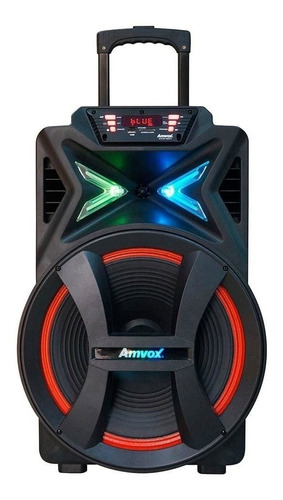 Caixa De Som Bluetooth Amplificada Amvox Aca-501 New X 500w