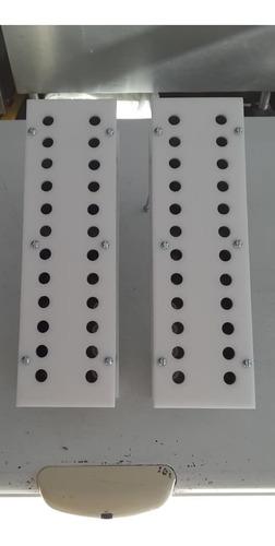 Alinhador Palito Picolé 24 Furos P/ Forma Modelo - Açofrio
