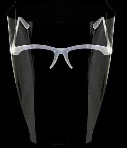 Mascara Com Lamina De Protecao /transparente  / Oculos