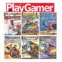 Play Gamer 6 Revistas Cd Rom Jogos Completos Para Pc