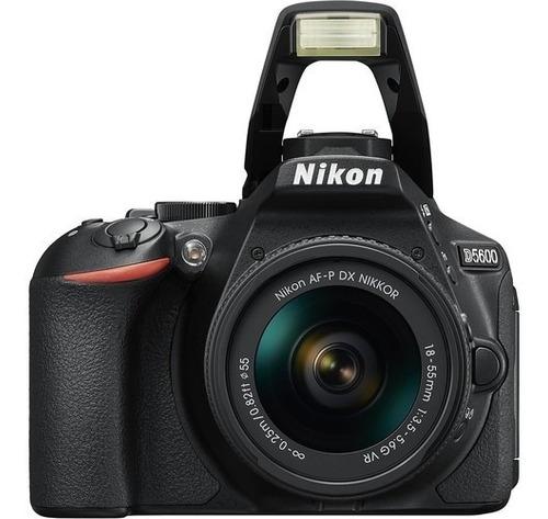 Câmera Nikon D5600 Com Lente Af p Dx 18 55mm Loja Platinum