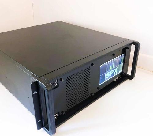 Processador De Áudio Emissoras De Rádio - Spx Fm Full + Rds