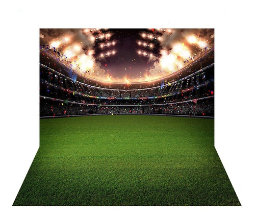 Kit 2 Fundos Fotográficos Tecido Futebol 2, 2x1, 5m Kit 05