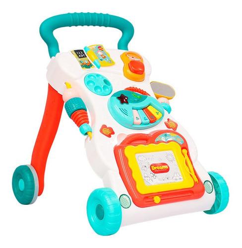 Andador Empurrador E Lousa Bebê Criança Certificado Inmetro