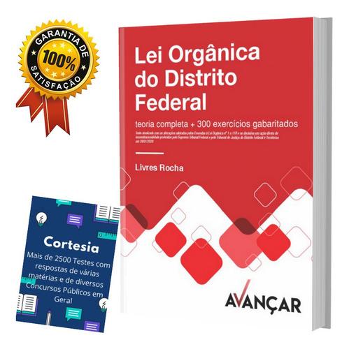 Apostila Lei Orgânica Do Distrito Federal Completa