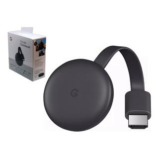 Google Chromecast 3 Gen Convertidor Smart Tv Hdmi Netflix Flow Spotify Hbo Streaming