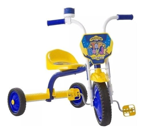 Triciclo Velotrol Infantil Menino Top Ultra Criança Velotrol