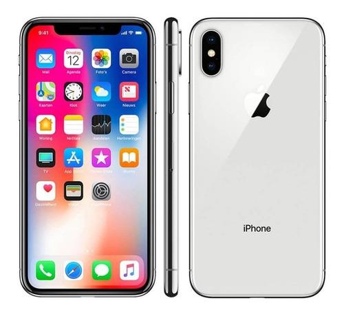 iPhone X 64 Gb Silve Desbloqueado Vitrine - Garantia 90 Dias