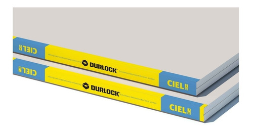 Placa Durlock Ciel 7mm Cielorraso Yeso Construcción En Seco