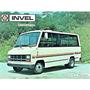 Folder Propaganda Micro Onibus Chevrobus Invel Anos 80
