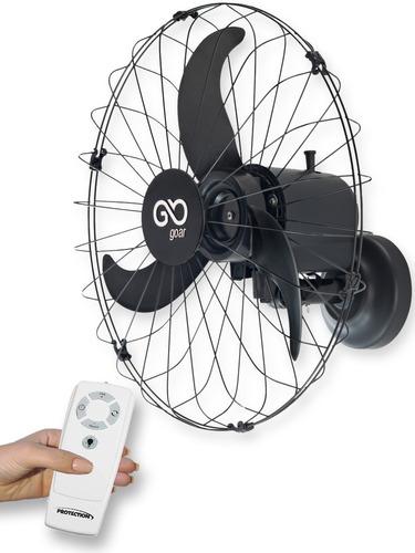 Ventilador De Parede 60cm 180w Silencioso Bivolt C Controle
