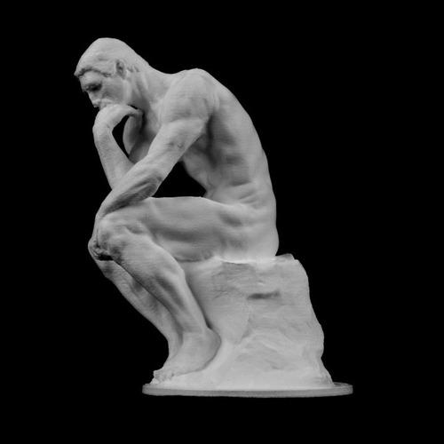 Escultura Estatua O Pensador Do Musée Rodin, França