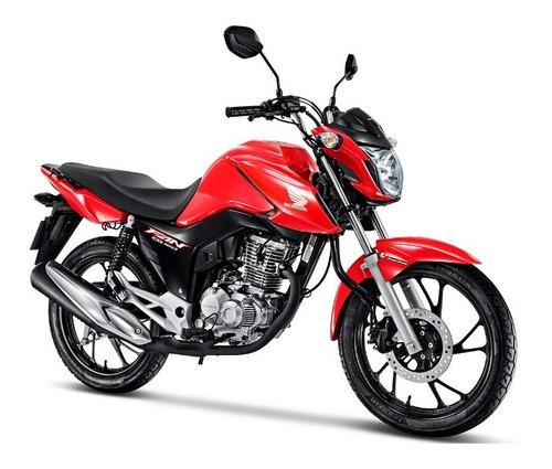 Honda Cg 160 Fan 2022 - Vermelho