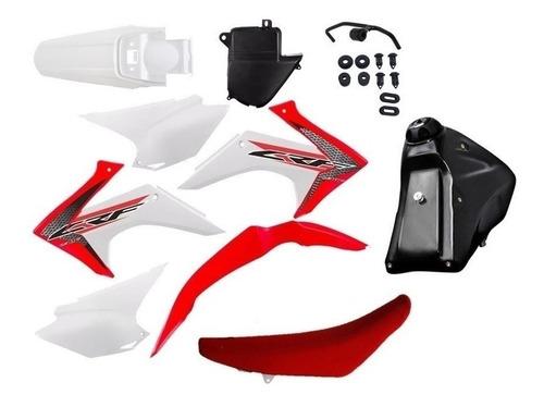 Kit Roupa Crf 230 Adaptavel Xr200 Tornado Bros Xtz Brinde