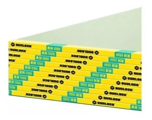 Placa Verde Placas Yeso Durlock Antihumedad 12.5mm Parana