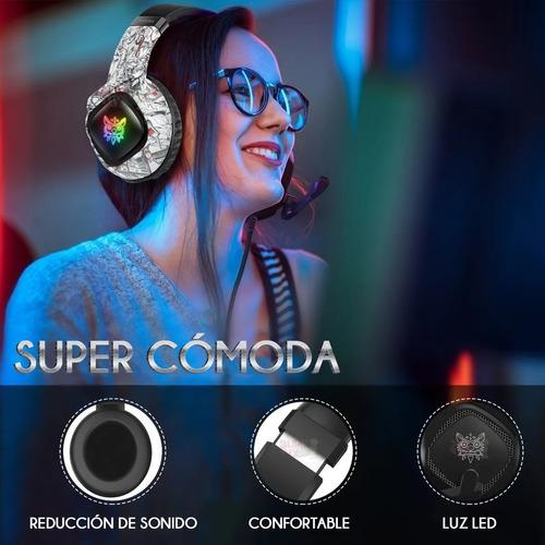 Audifonos Gamer Onikuma K19 Rgb Ps4 Xbox One S, X Pc Laptop - Ecart