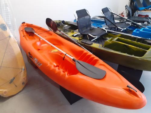 Caiaque Solar Hidro 2 Eko C/ Remo - Pronta Entrega !