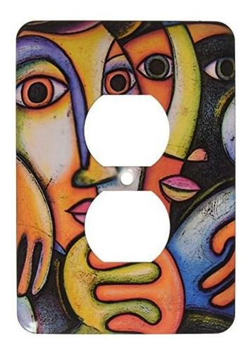 3drose Lsp_21220_6 Troth Parejas Arte Colorido Arte Fino Cub