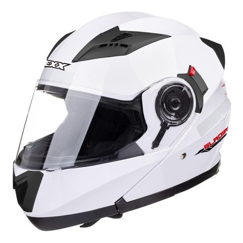 Capacete Para Moto  Escamoteável Texx  Gladiator  Branco Tamanho L