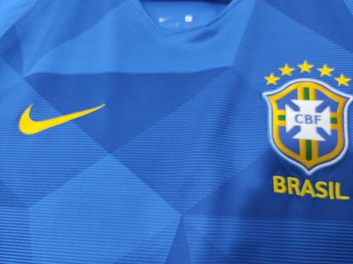 Camisa Selecao Brasileira Azul Oficial Copa 2018 A Venda Em Vila Velha Espirito Santo Por Apenas R 200 00 Ocompra Com Brasil