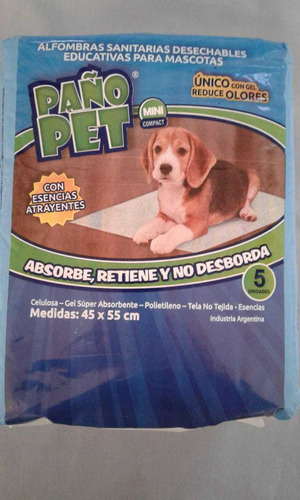 Alfombras Sanitarias Paño Pet Mini Compact .