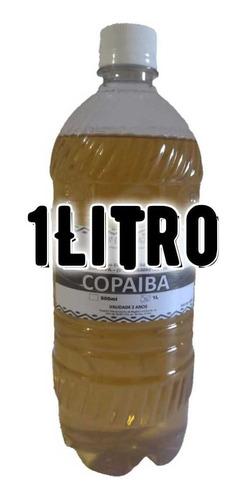 1 Litro Óleo De Copaiba - 100% Puro Extraido Na Amazonia