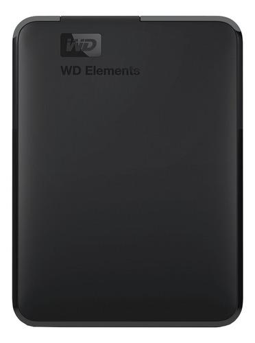 Disco Duro Externo Western Digital Elements Wdbu6y0050bbk 5tb Negro