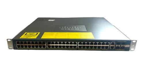 Switch Gigabit Cisco 4948  48 Portas 1000 E 04 Portas Sfp