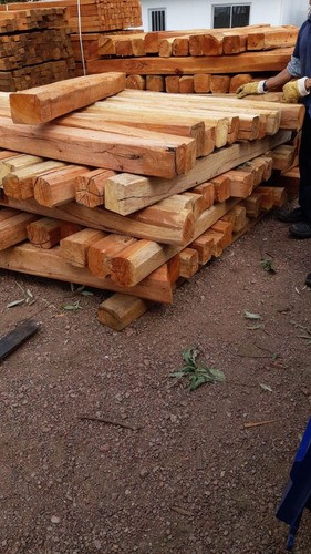 Poste Para Alambrado Eucaliptus Colorado 15x15x3 M