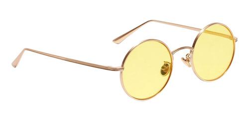 Mulheres Homens Óculos De Armação De Metal Espelhada