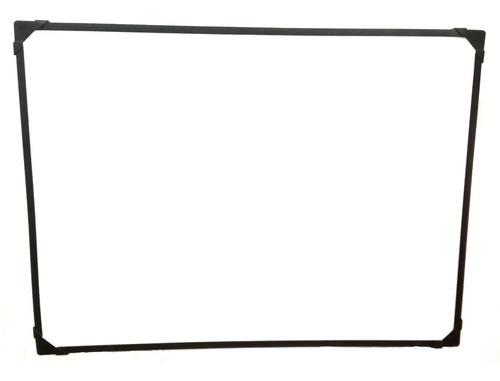 Tablero Acrilico Borrable 80x120cm,mdf 9mm Con Portaborrador