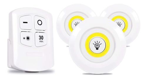 Lampada Led Spot Luminaria S/ Fio Com Controle Remoto Oferta