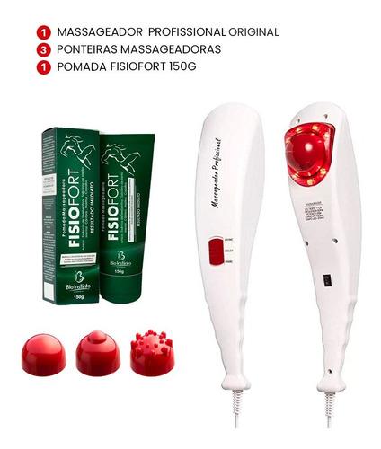 Massageador Eletrico Infravermelho Vibratorio Original Full