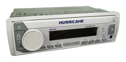 Player Marinizado Para Lanchas E Barcos Hurricane Náutica Hrm 620 Com Usb E Bluetooth