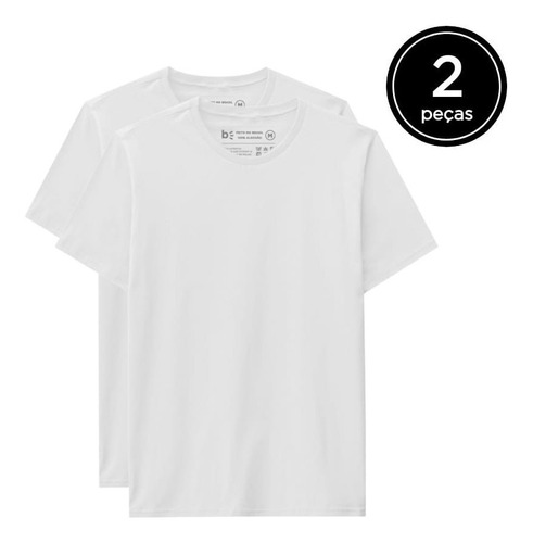 Kit 2 Camisetas Básicas  - Basicamente By Malwee