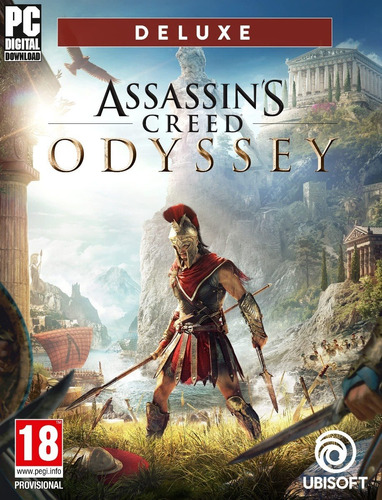 Assassins Creed Odyssey Deluxe Edition + 3 Dlc's - Pc