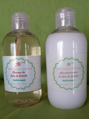 Shampoo Y Acondicionador Fortalecedor De Cola De Caballo