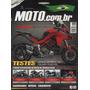 Rev. Moto N°137 Honda Nxr Bros 160 Triumph Tiger 800