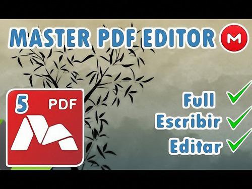 Master Pdf Editor Full-programa Para Editar Pdf-para 32 Y 64