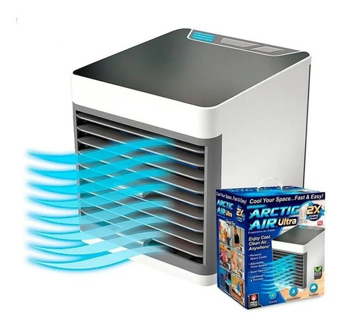 Mini Climatizador Umidificador De Ar Condicionado Portátil