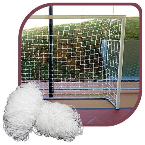 Par Rede Gol Futsal Futebol De Salão Fio 2mm Proteção U.v.