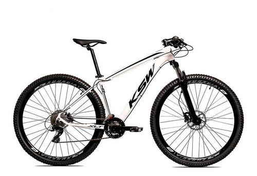 Bicicleta Aro 29 Ksw Shimano 24v Freio Disco Hidráulico-ltx