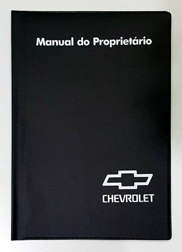 Capa Porta Manual Proprietário Chevrolet Gm Pvc