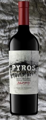 Vino Tinto Pyros Single Vineyard Block N°4 Malbec - Caja X6