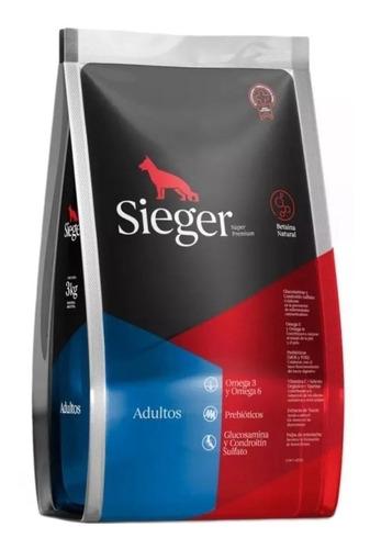 Alimento Sieger Super Premium Para Perro Adulto De Raza Mediana/grande Sabor Mix En Bolsa De 15kg