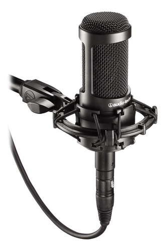 Micrófono Audio-technica At2035 Condensador Cardioide Negro