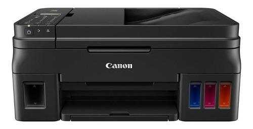 Impresora A Color  Multifunción Canon Pixma G4111 Con Wifi Negra 110v/220v