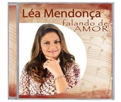 Lea Mendonça - Falando De Amor (acrílico) - Cd Mk Music Original