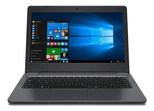 Notebook Positivo Bgh Master N40i Cinza-oscura 14 , Intel Celeron N3010  2gb De Ram 32gb Ssd, Intel Hd Graphics 400 1366x768px Windows 10 Pro