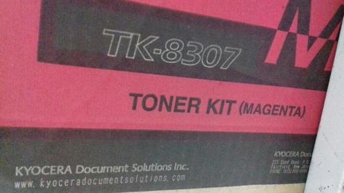Kit Toner Kyocera Tk 8307 Original Todas 4 Cor Lacrado